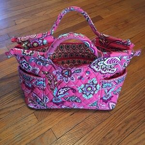 Vera Bradley Small Tote Bag . Call Me Coral